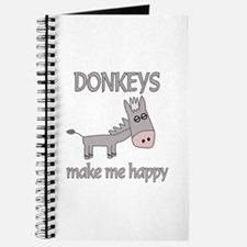 Donkey Happy Journal