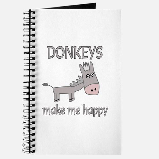 Donkey Happy Journal