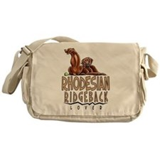 Rhodesian Ridgeback Lover Messenger Bag