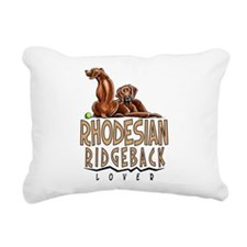Rhodesian Ridgeback Lover Rectangular Canvas Pillo