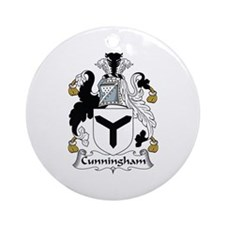 Cunningham Ornament (Round)