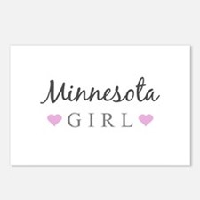 Minnesota Girl Postcards (Package of 8)
