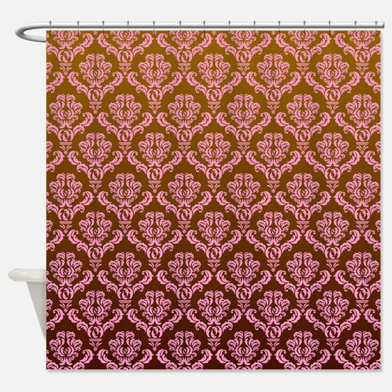 Unique Pink frilly Shower Curtain