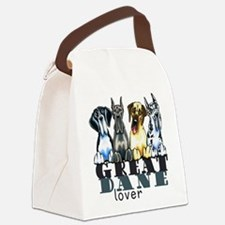 Great Dane Lover Canvas Lunch Bag