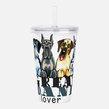Great Dane Lover Acrylic Double-wall Tumbler