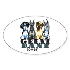 Great Dane Lover Decal