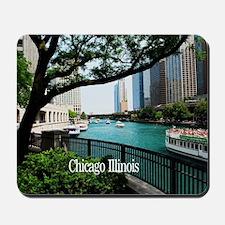 Chicago River Mousepad