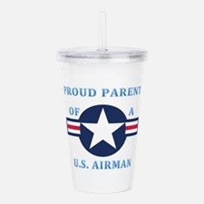 Proud Parent Airman Acrylic Double-wall Tumbler