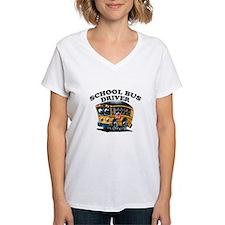 School Bus Driver Logo T-Shirt