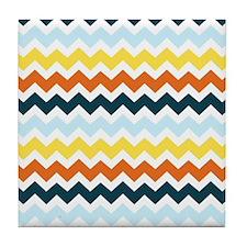 Unique Modern colorful Tile Coaster