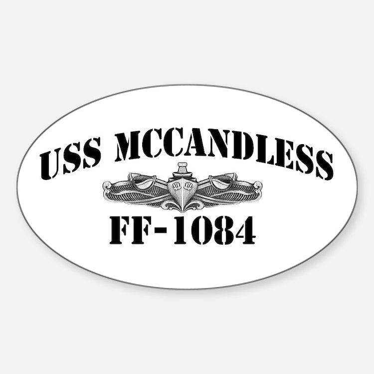 USS McCANDLESS Decal