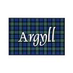 Tartan - Argyll dist. Rectangle Magnet