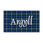 Tartan - Argyll dist. 20x12 Wall Decal