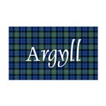 Tartan - Argyll dist. 35x21 Wall Decal