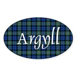 Tartan - Argyll dist. Sticker (Oval)