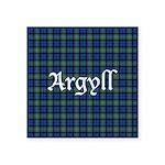 Tartan - Argyll dist. Square Sticker 3