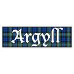 Tartan - Argyll dist. Sticker (Bumper)