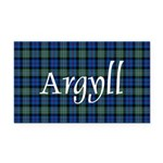 Tartan - Argyll dist. Rectangle Car Magnet