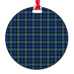 Tartan - Argyll dist. Round Ornament