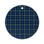Tartan - Argyll dist. Ornament (Round)