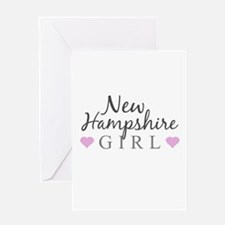 New Hampshire Girl Greeting Cards