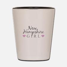 New Hampshire Girl Shot Glass