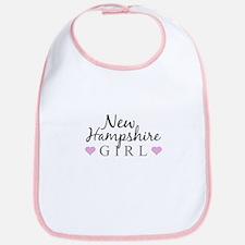 New Hampshire Girl Bib