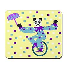 Unicycle Panda Mousepad