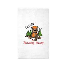 Hunting Buddy 3'x5' Area Rug