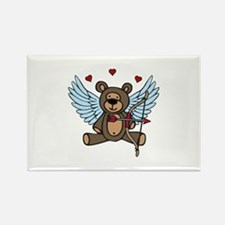 Cupid Teddy Bear Magnets