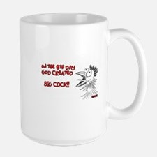 On The 8th Day God Created BIG COCK!! Mugs