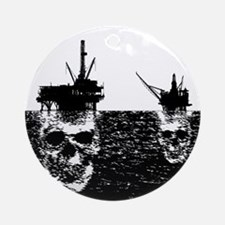 OFFSHORE OIL RIGS Ornament (Round)