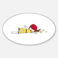 Softball Slide Decal