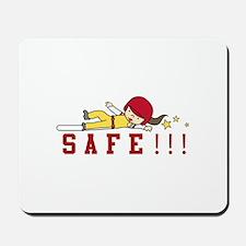 Safe!!! Mousepad