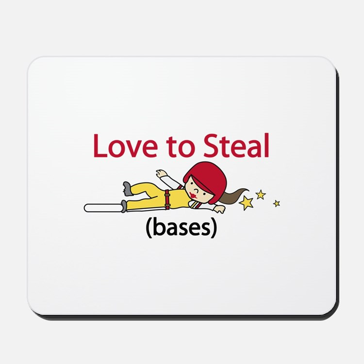 Love to Steal Mousepad