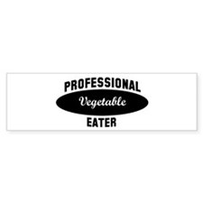 Pro Vegetable eater Bumper Bumper Sticker