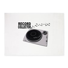 Record Collector 5'x7'Area Rug