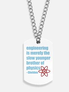 Big Bang Theory - Engineering Quote Dog Tags