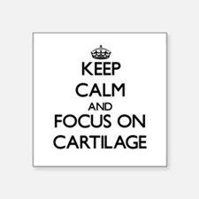 Keep Calm and focus on Cartilage Sticker