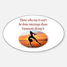 INSPIRING GYMNAST Decal