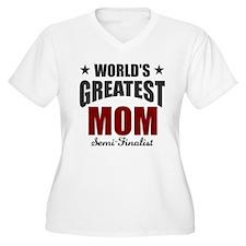 Greatest Mom Semi T-Shirt