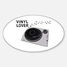 Vinyl Lover Decal