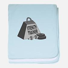 Strength trainer baby blanket
