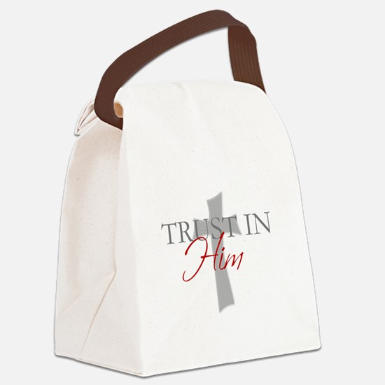 Funny Christianity Canvas Lunch Bag