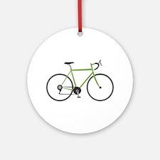 Ten Speed Bike Ornament (Round)