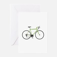 Ten Speed Bike Greeting Cards