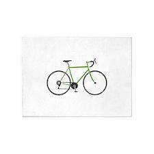Ten Speed Bike 5'x7'Area Rug
