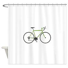 Ten Speed Bike Shower Curtain