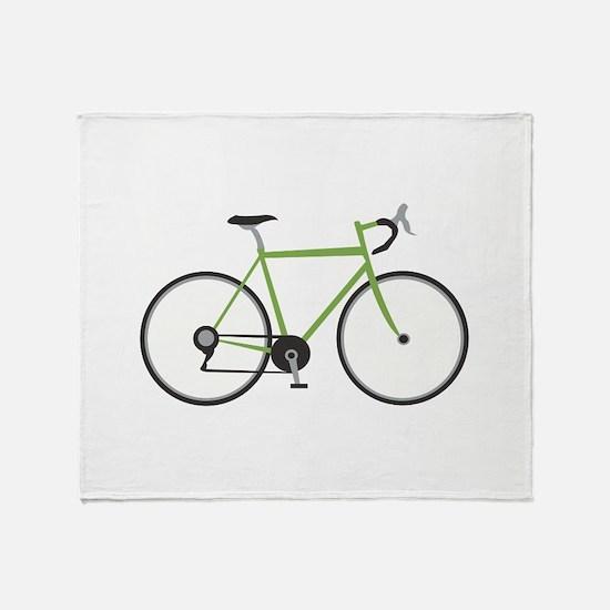 Ten Speed Bike Throw Blanket