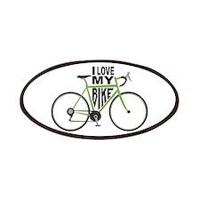 I Love My Bike Patches